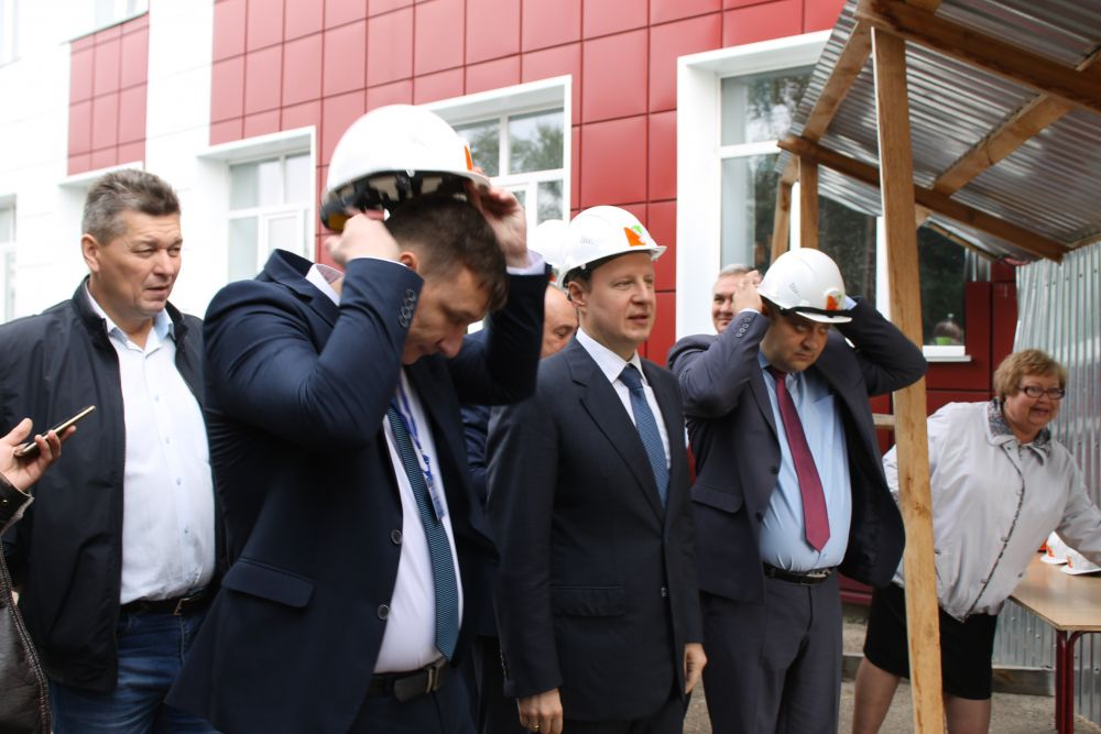В Ключевской школе №1 уже в конце этого года появится пристройка в целях создания современных условий обучения