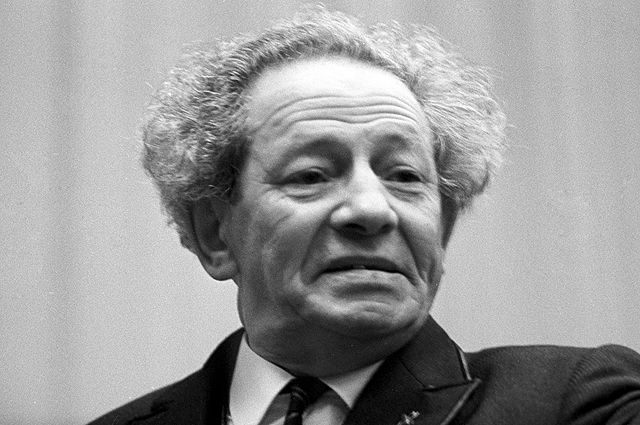 Вольф Григорьевич Мессинг. 1968 год.
