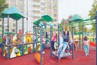Новая площадка подходит для детей разных возрастов.
