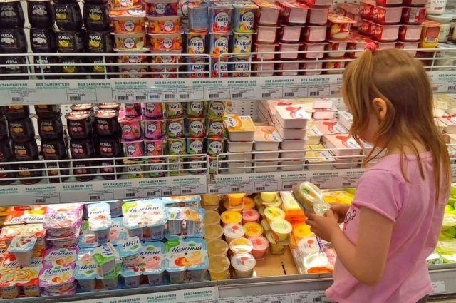 На долю молочных продуктов приходится 19,9%.