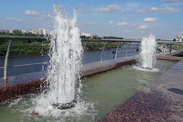 Начались работы по благоустройству левого берега реки Туры