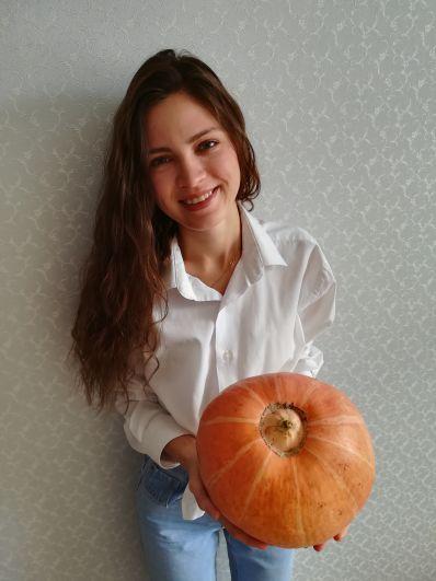 Участник №3 Рамиля Мухамадиева: «Вырастили огромную тыкву!»