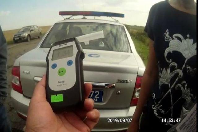Жительницу села Казанское задержали за пьяное вождение