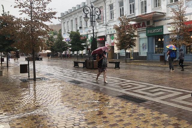 В Новосибирской области установилась непогода