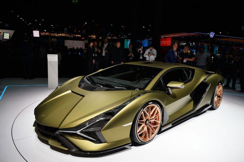 Lamborghini Sian FKP 37.