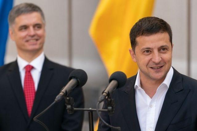 Зеленский представил нового министра иностранных дел Вадима Пристайко