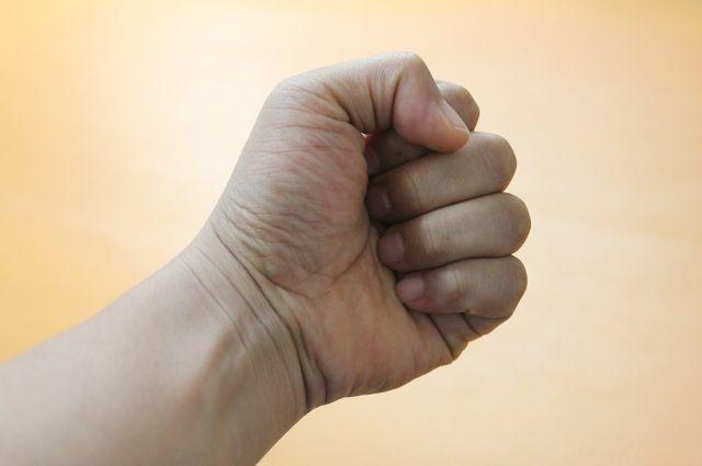 Северянка ударила кулаком полицейского за то, что отвлек ее от выпивки