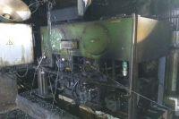Пожар затушили, погибших и пострадавших пожара нет