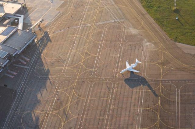Аэропорт «Киев» возобновил свою работу после ремонта
