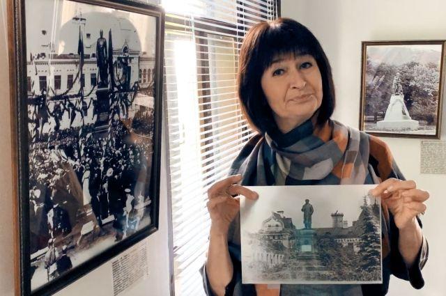 Любовь Левина работает в Доме-музее Александра Михайловича Опекушина, что находится в селе Рыбницы.