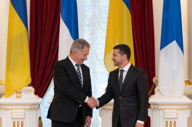 В Украину с рабочим визитом приехал президент Финляндии