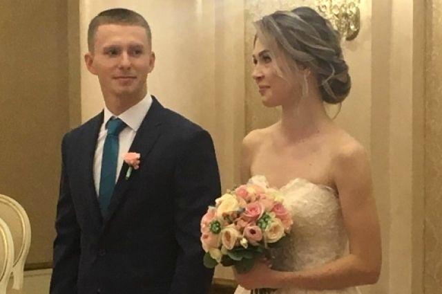 Тюменский лыжник Денис Спицов женился