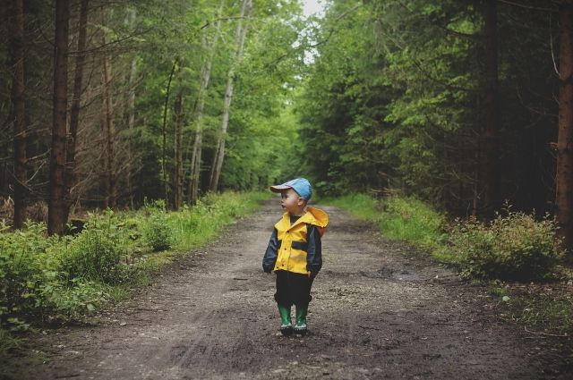 Мальчик пошёл гулять и без спроса родителей убежал со двора.