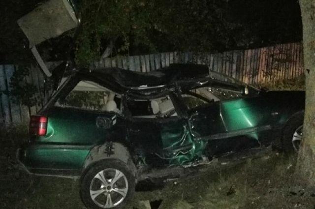 В Багратионовском районе водитель погиб при столкновении с деревом