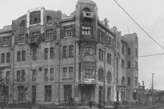 Это памятник модернистской архитектуры. Фото 1939 года.