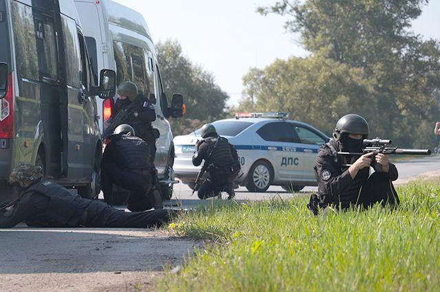 Омские спецслужбы отработали свои действия в случае теракта