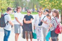 Экскурсия длилась два часа и оказалась интересной для москвичей всех возрастов.