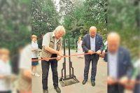 На открытии сквера имени Пушкина актёр Юрий Назаров прочёл стихи великого поэта