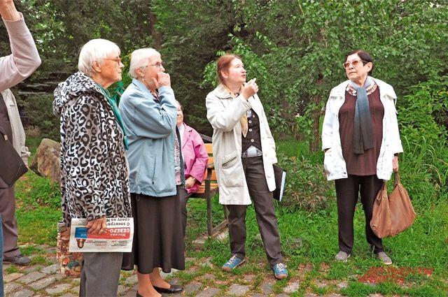 Адреса имаршруты экскурсий поХорошёво-Мнёвникам самые разные. Неизменно одно– интерес жителей.