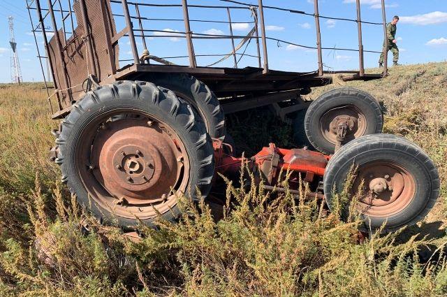 В Пермовайском районе погиб водитель трактора.