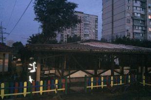 Пожар в Киеве: сгорел один из столичных ресторанов