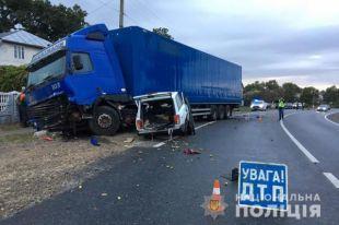 Смертельное ДТП в Ивано-Франковской области: погибли два человека