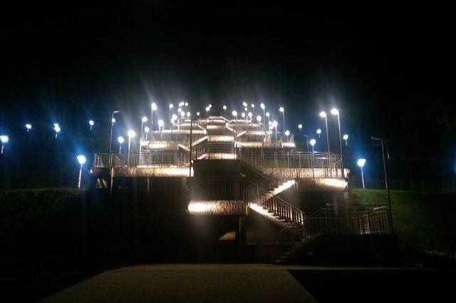 Лестница в Нагорный парк