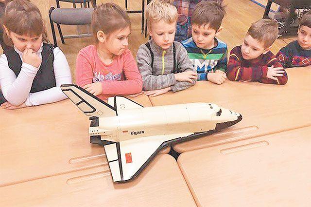 Ребята могут изучить строение «Бурана» вшкольном музее.