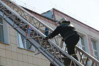 Возгорание произошло по адресу Гусарова, 23.