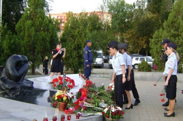 Вахта памяти жертв теракта в Волгодонске проходит каждый год 16 сентября