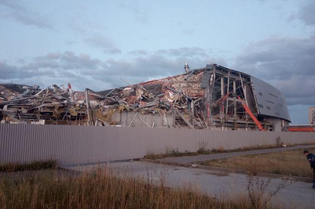 Как «Арена-Омск» выглядела изнутри за 15 минут до обрушения