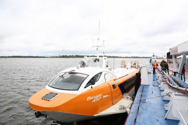 Судно на подводных крыльях «Валдай 45Р»