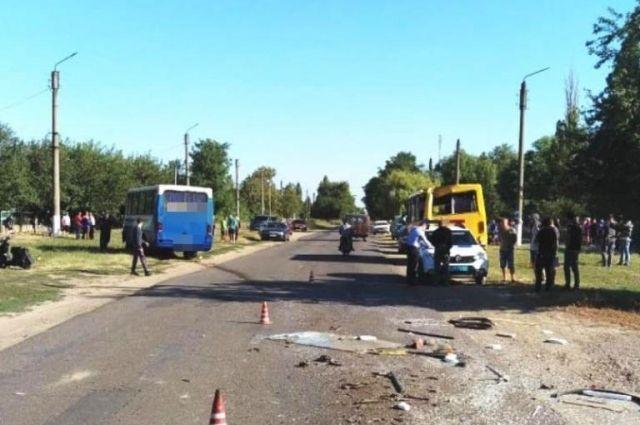 Масштабное ДТП в Одесской области: пострадали почти 20 человек