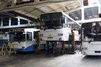 Сложная ситуация с общественным транспортом в городе связана с большим процентом износа подвижного состава.