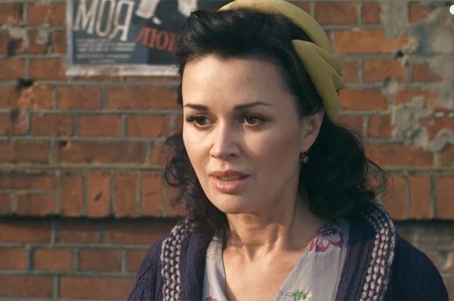 Анастасия Заворотнюк в фильме «Охота на гауляйтера».