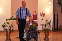 Лидия и Юрий сыграли свадьбу 3 сентября 1959 года.