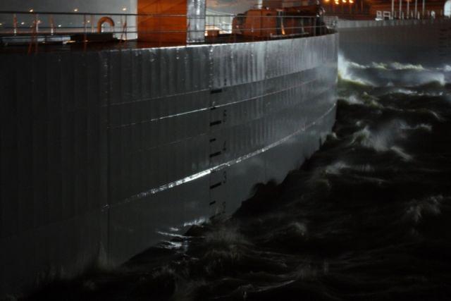Дамба должна спасти от наводнений.