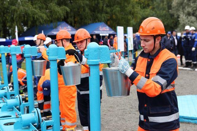 Конкурс молодых специалистов на водопроводных сетях.