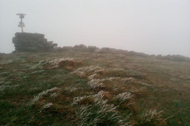 А где осень?: в Украине выпал первый снег