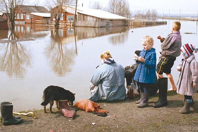 Многие пенсионеры Нижнеудинска этим летом из-за наводнения остались без урожая.