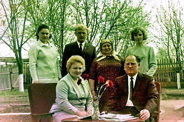 30 апреля 1970 года: 50-летний юбилей Виктор Дзюба отмечал в кругу семьи.