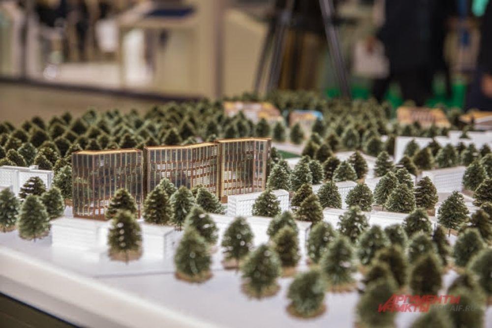 Например, представили макеты улучшения городской среды