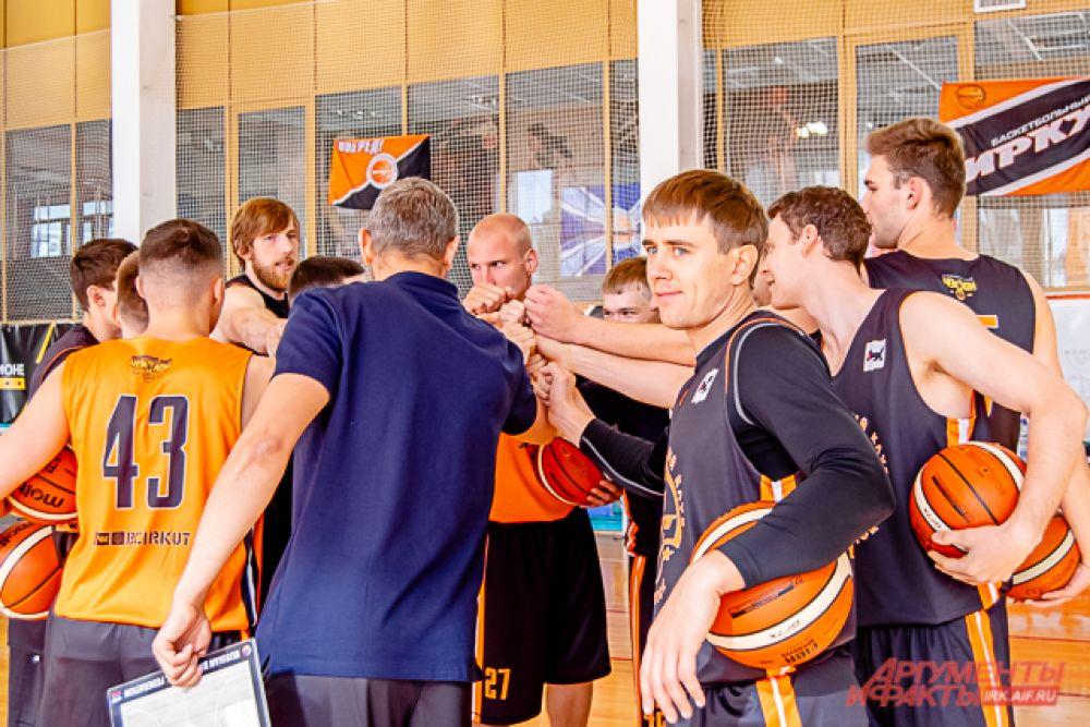 Баскетбольный клуб «Иркут» снова в игре