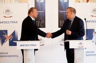 Владимир Урин и Михаил Волков.