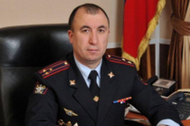 Полковник полиции Руслан Магомедов назначен на должность заместителя начальника Управления МВД России по Оренбургской области – начальника полиции.
