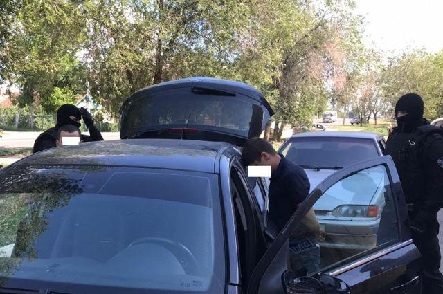 В Оренбурге задержаны подозреваемые в грабеже.
