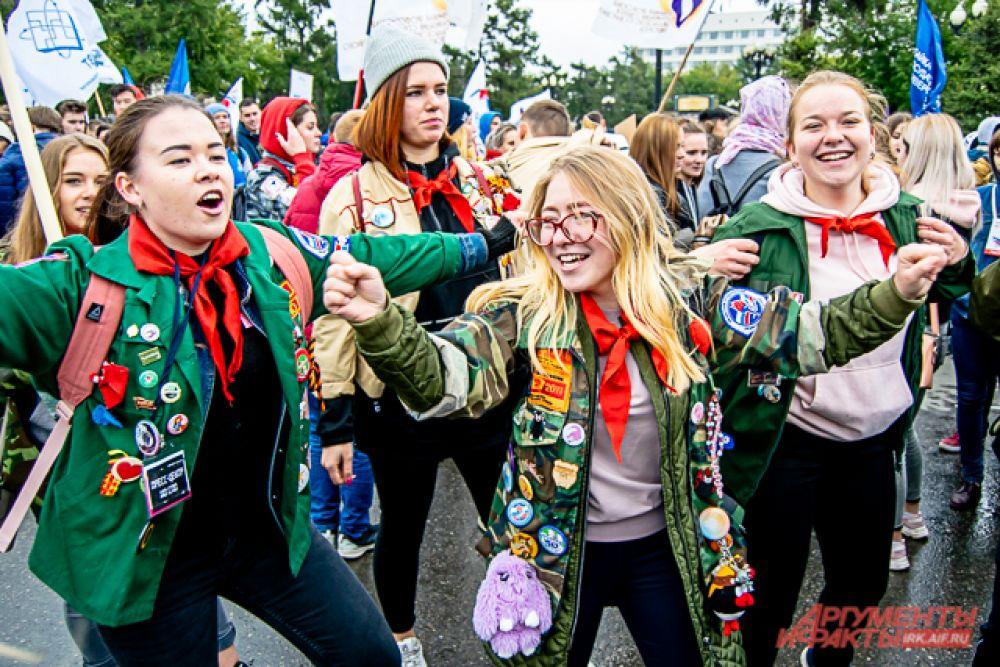 В масштабном общероссийском посвящении участвовали высшие и среднеспециальные учебные заведения города и региона
