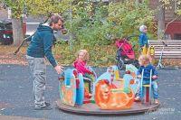 20 детских площадок благоустроено за лето в Академическом.