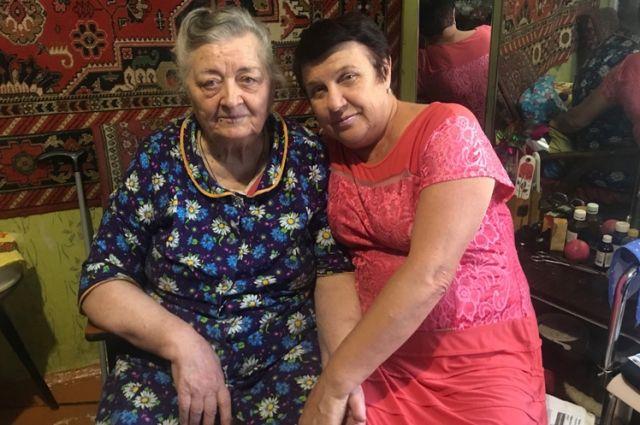 Анна Иноземцева (слева) и Ольга Баранова стали родными людьми.