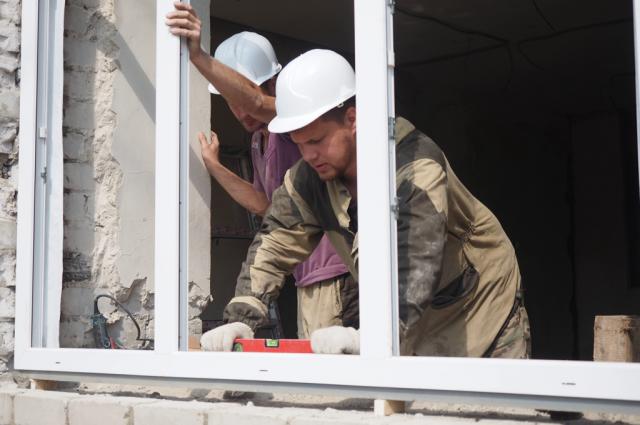 В ЯНАО полным ходом идет капитальный ремонт жилых многоквартирных домов